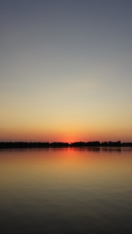 Sunset at Lake Wilcox